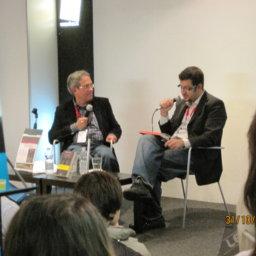 Con Arturo Sangalli